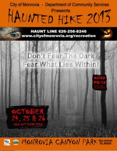 monrovia haunted hike