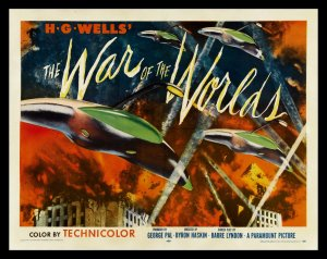 war of the worlds 1953 poster
