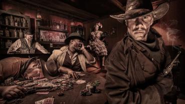 Knotts Scary Farm 2014 Gunslinger's Grave