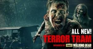 Walking Dead Terror Tram