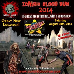 Zombie Blood Run ad