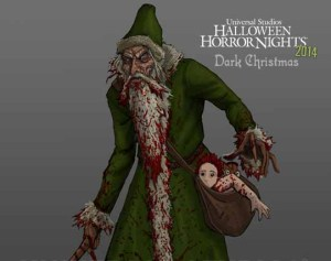 Don't expect a jolly old elf in the Dark Christmas scare zone.