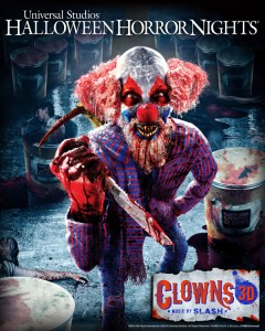 Clowns 3D at Halloween Horror Nights