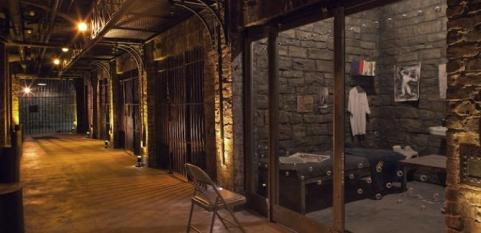 Hannibal Lecter's jail cell from SILENCE OF THE LAMBS