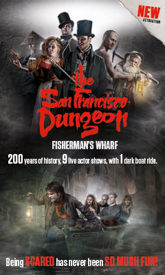 San Francisco Dungeon poster
