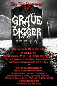 GraveDigger at zombie joe
