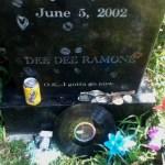 Hollywood Forever Cemetery: Dee Dee Ramone (Douglas Glenn Colvin)