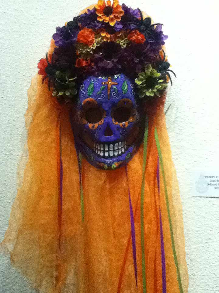 October Shadows 2014: Day of the Dead mask