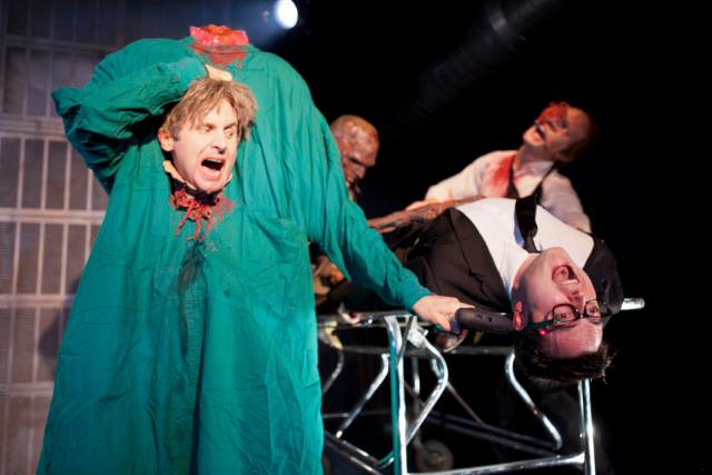 Re-Animator The Musical Dr. Hill and Herbert West