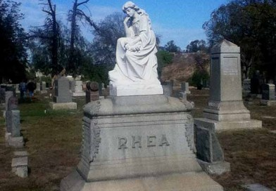 Long Beach Historical Cemetery Tour 2014: Rhea