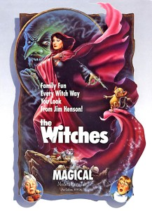 WITCHES POSTER 1990