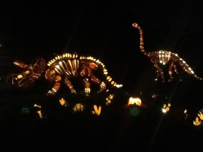 Rise of the Jack O'Lanterns: Dinosaurs 3