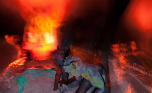 Hellish visions from the Haunted Hayride