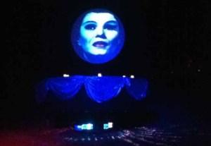 Los Angeles Live Steamers Ghost Train 2014: Madame Leota horizontal