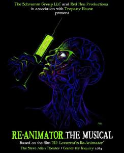 Re-Animator the Musical poster