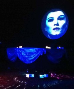 Los Angeles Live Steamers Ghost Train 2014: Seance with Madame Leota