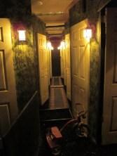 Motel 6 Feet Under hallway