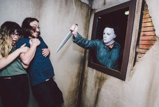 Halloween Horror Nights mazes 2015: Michael Myers. Photo by David Sprague