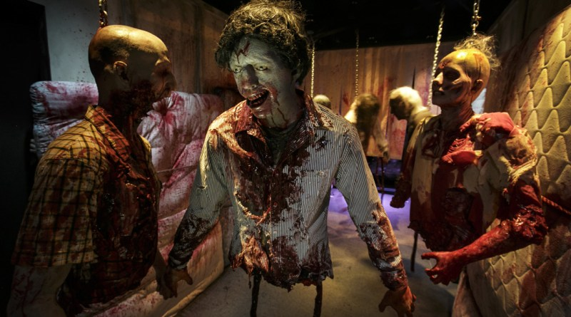 Halloween Horror Nights mazes 2015. Photo by David Sprague