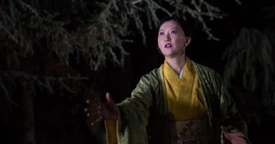 "Wicked Lit 2015 Sachiyo K in ""The Grove of Rashomon."" Photo by Daniel Kitayama"