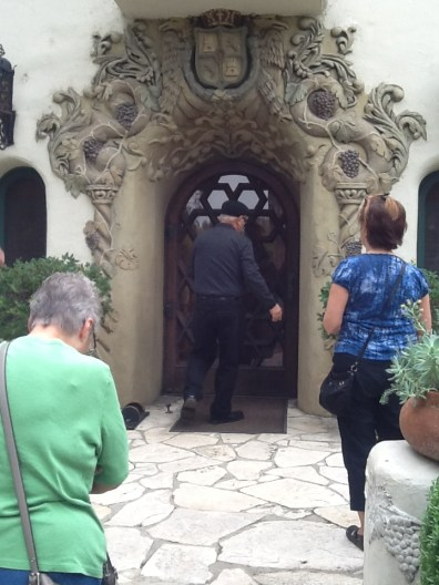 Entrance to the Temple House