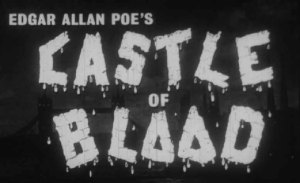 Castle of Blood opening title