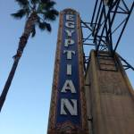 The Egyptian Theatre in Hollywood