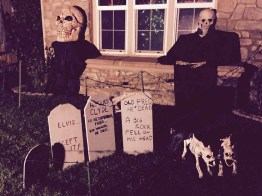 The grave of Elvis at Field of Screams