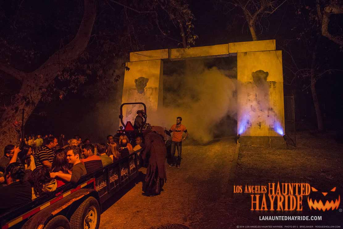 Los Angeles Haunted Hayride 2016: Secret Society