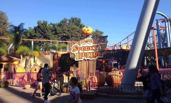 Knotts Spooky Farm 2015 Spooky Hollow Maze 4