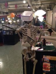 Mel's skeleton