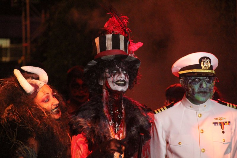 The Voodoo Priestess, the Ringmaster, the Captain