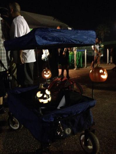 Rise of the Jack O'Lanterns 2015 cart