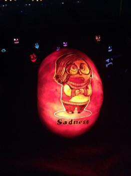 Rise of the Jack O'Lanterns 2015 sadness