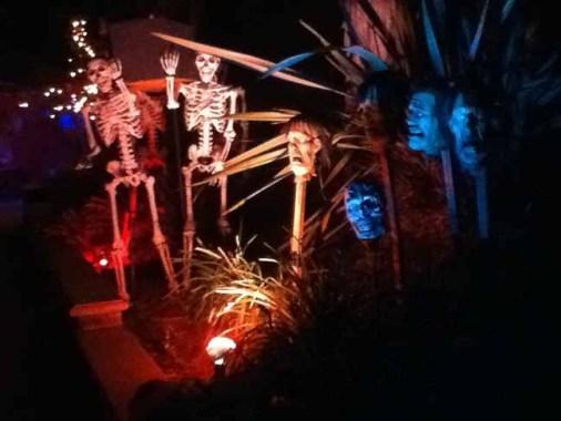 Via Del Lago 2015 Skeletons. Copyright 2015 Steve Biodrowski