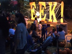 Eek at the Greek 2015 sign