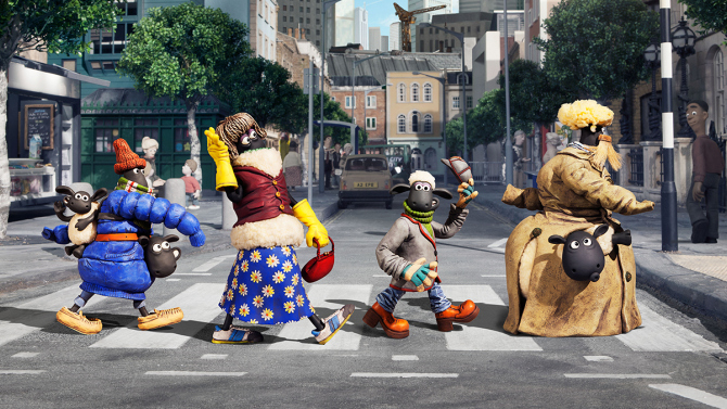 Shaun and pals go undercover in the Shaun the Sheep Movie.