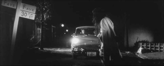 Lady Vampire car scene
