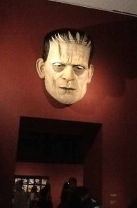 The Face of Frankenstein at LACMA's Guillermo Del Toro: At Home with Monsters revoew