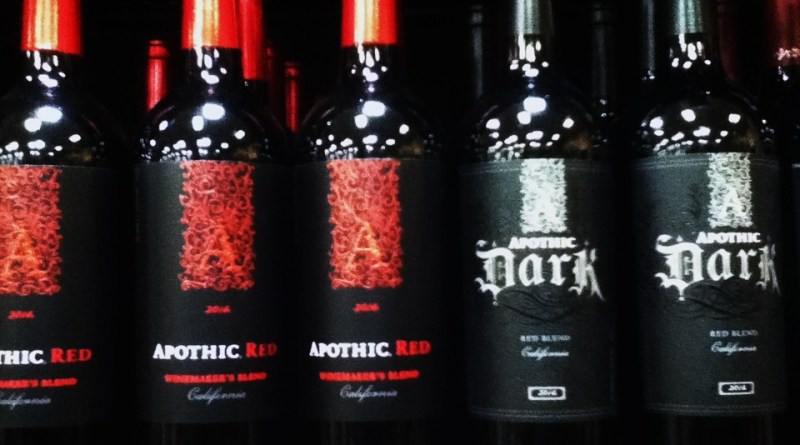 apothic wines red and dark