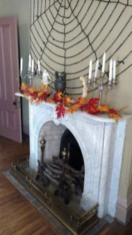 Spooky fireplace (photo by Warren So)