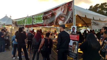 Zombie Makeup Booth