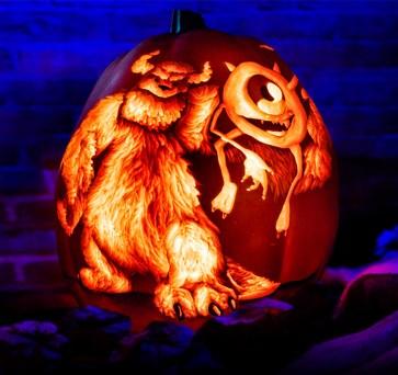 monsters-inc-art-pumpkin