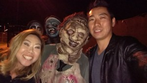 Field of Screams 2016: Selfie with Leatherface