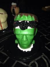 Knotts Scary Farm 2017 press buffet Frankenstein dessert