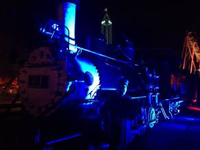 Knotts Scary Farm 2017 Ghost Train to Nowhere