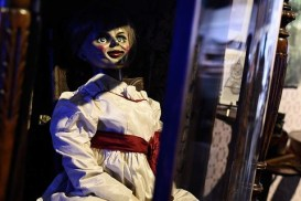 The Annabelle doll from The Conjuring