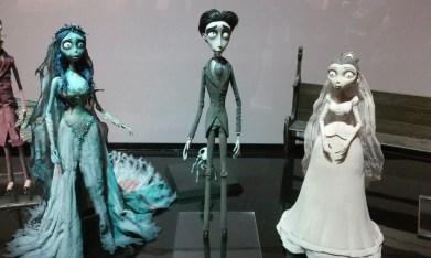 Warner Brothers Studio Tour Corpse Bride display close up