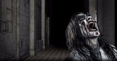 All Saints Lunatic Asylum Halloween Haunt scream