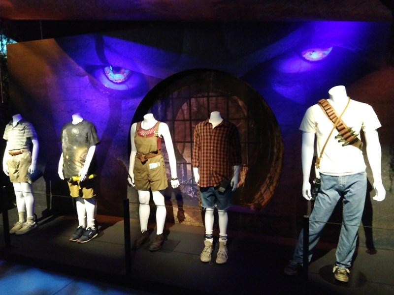 IT costumes Warner Bros Studios Tour